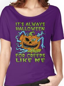 Halloween Creep Women's Relaxed Fit T-Shirt