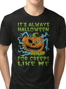Halloween Creep Tri-blend T-Shirt