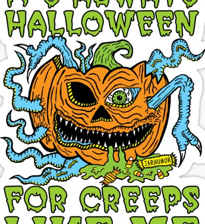 Halloween Creep Sticker