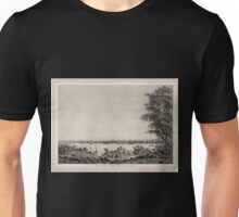 670 View of the City of New York taken from Long Island Unisex T-Shirt