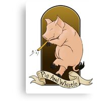 The Pig And Whistle Canvas Print