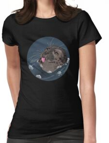 Seal Blep Womens Fitted T-Shirt