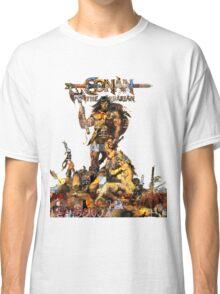 Conan Gridwork and Logo Classic T-Shirt