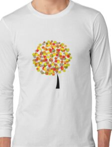 Tree of colors Long Sleeve T-Shirt