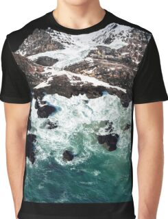 Sea and Mountains Graphic T-Shirt
