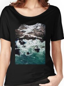 Sea and Mountains Women's Relaxed Fit T-Shirt