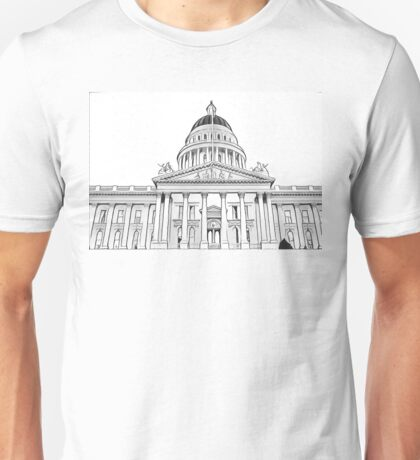 California State Capitol Building Unisex T-Shirt