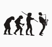 evolution of jazz t-shirt by parko