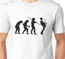 evolution of jazz t-shirt Unisex T-Shirt
