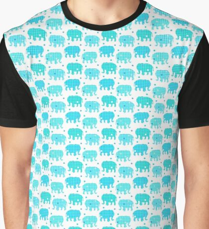 Elephant Dots Graphic T-Shirt