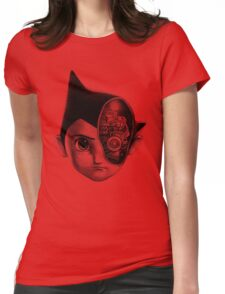 Robot Boy Womens Fitted T-Shirt