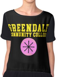 Community - Greendale Community College Chiffon Top
