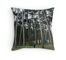 Through the Woods #2 Throw Pillow