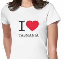 I ♥ TASMANIA Womens Fitted T-Shirt