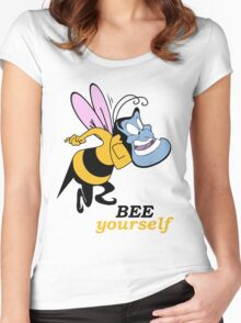 Bee Yourself Women's Fitted Scoop T-Shirt