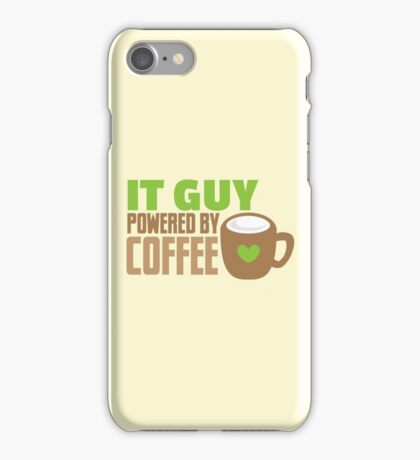 IT GUY powered by coffee iPhone Case/Skin