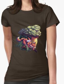 David, the Gnome Womens Fitted T-Shirt