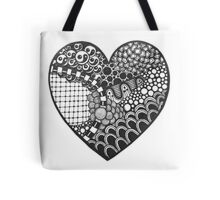 Tangled heart Tote Bag
