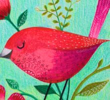Spring Birdie Sticker