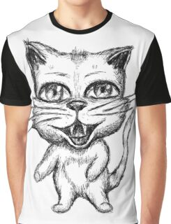 Sketch a character cat Graphic T-Shirt