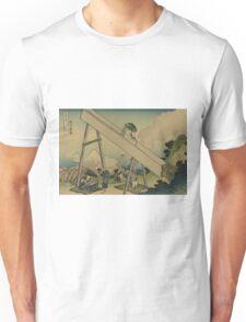 Totomi sanchu - Hokusai Katsushika - 1890 Unisex T-Shirt
