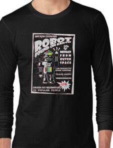Robot found on earth Long Sleeve T-Shirt