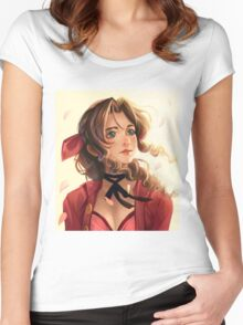 Aerith Women's Fitted Scoop T-Shirt