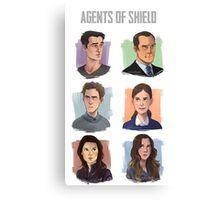 Agents of SHIELD Portraits Canvas Print
