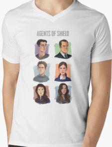 Agents of SHIELD Portraits Mens V-Neck T-Shirt