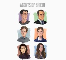 Agents of SHIELD Portraits Unisex T-Shirt