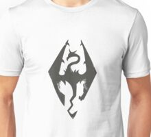 Iron Dragon Grunge Unisex T-Shirt
