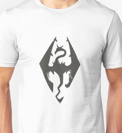 Iron Dragon Grunge Unisex T-Shirt