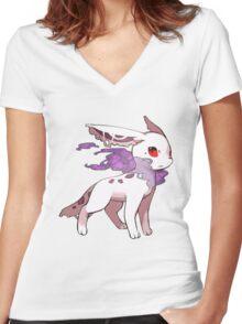 Phanteon Women's Fitted V-Neck T-Shirt