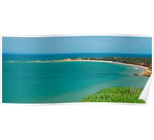View of Apollo Bay, Great Ocean Road. Poster