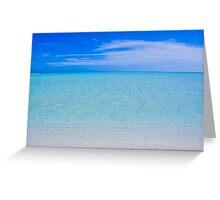 Aitutaki Paradise Greeting Card