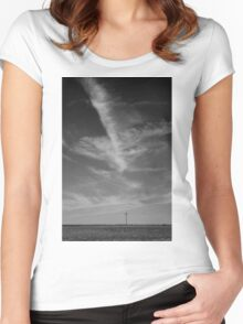 Prairie Sky Women's Fitted Scoop T-Shirt