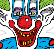 Killer Klowns Kill People Sticker