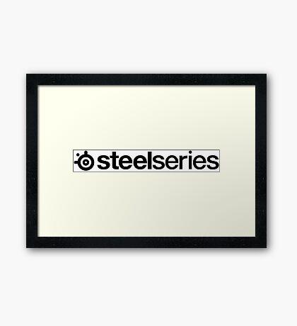 Steelseries logo Framed Print