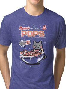 Nyan's Pixel Pops Tri-blend T-Shirt