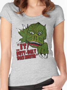 IT! Butt Ugly Space Monster Women's Fitted Scoop T-Shirt