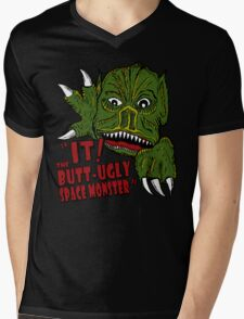 IT! Butt Ugly Space Monster Mens V-Neck T-Shirt