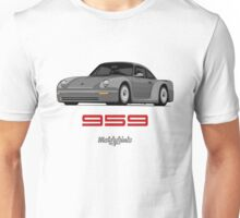 Porsche 959 Group B Prototyp (gray) Unisex T-Shirt
