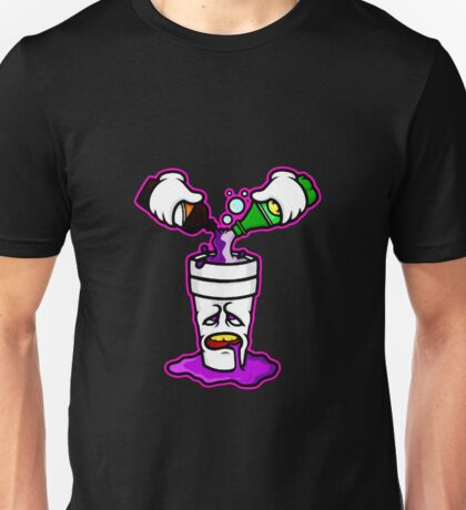 Pour Up in Purple Unisex T-Shirt