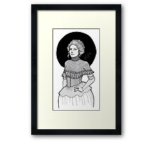VICTORIA Framed Print