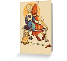 Rockwell Time Greeting Card