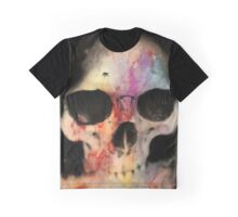 Skull With Fly Graphic T-Shirt