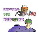 Teemo! Support our shrooms! by deadpoolRKO