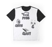 CHUH PUSS C CLAAT Graphic T-Shirt