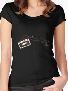 Cassette Women's Fitted Scoop T-Shirt