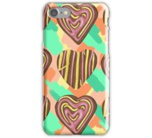 Gingerbread Love on Pastel Smash iPhone Case/Skin